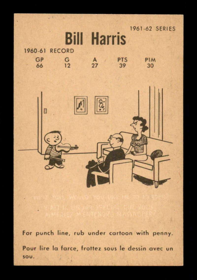 1961-Parkhurst-15-Billy-Harris-Select-a-Grade-Free-Ship