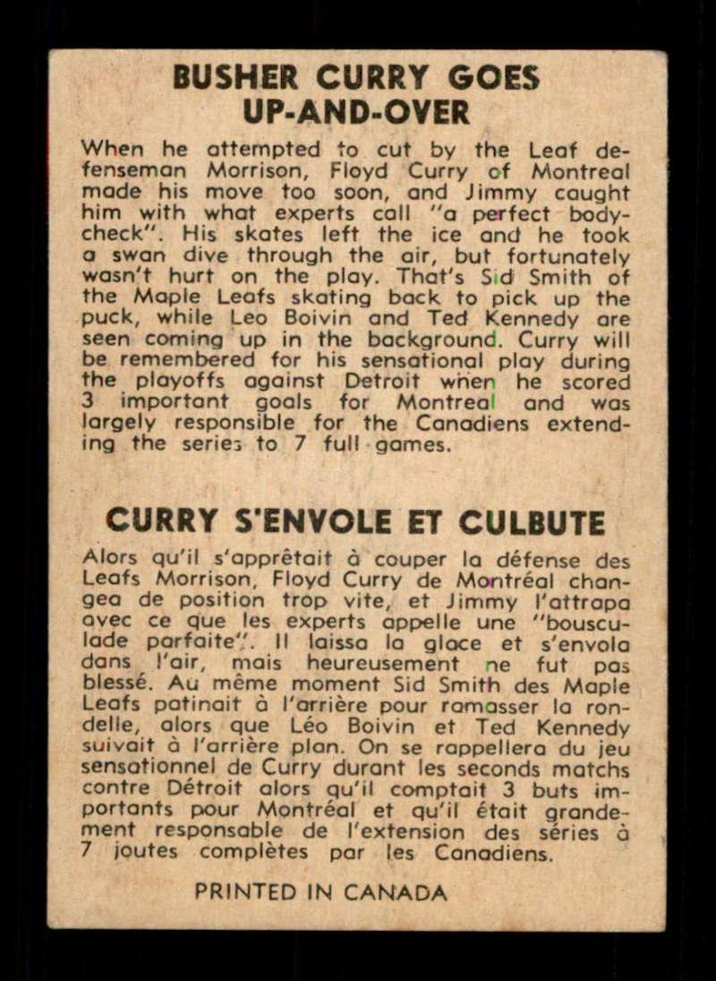 1954-Parkhurst-89-Floyd-Curry-IA-Select-a-Grade-Free-Ship