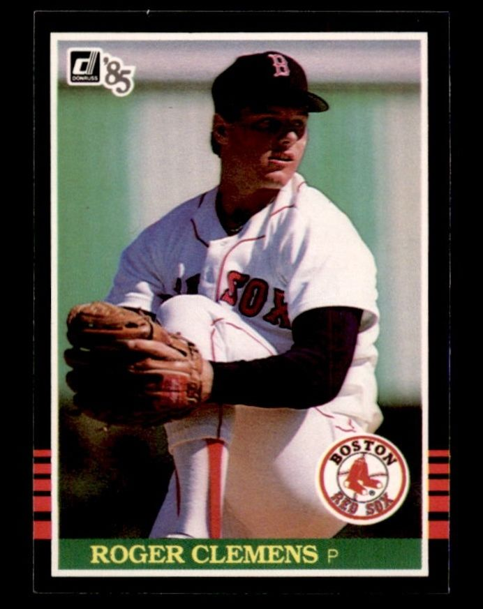 1985-Donruss-273-Roger-Clemens-RC-Boston-Red-Sox-Select-A-Grade-Free-Shipping